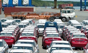 Nhập khẩu ô tô Thái Lan, Indonesia tăng vọt trong tháng 1/2017