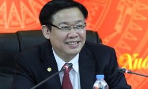 Phó Thủ tướng Vương Đình Huệ giữ chức Trưởng ban chỉ đạo tái cơ cấu Tổng công ty Công nghiệp tàu thủy