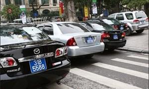 Hà Nội: Thí điểm khoán kinh phí sử dụng xe ô tô phục vụ lãnh đạo