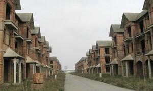 4 năm giải quyết được 3/4 lượng bất động sản tồn kho