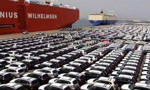 Sẽ áp dụng biện pháp tự vệ thương mại khi ô tô nhập khẩu tăng đột biến