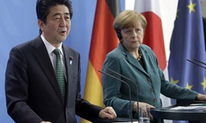 Nhật Bản và Đức cam kết bảo vệ chính sách thương mại tự do