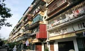 Vẫn khó trong cải tạo chung cư cũ