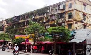 """""""Nóng"""" cải tạo chung cư cũ tại Hà Nội"""