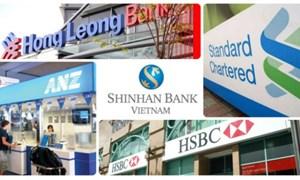 Ngân hàng ngoại tràn ra thị trường