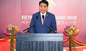 Hà Nội đẩy mạnh xúc tiến đầu tư, thương mại du lịch với Nhật Bản
