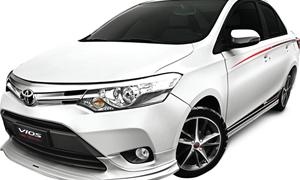 Toyota Vios TRD 2017 phiên bản thể thao có giá bán từ 644 triệu đồng