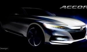 Honda sắp trình làng Accord 2018
