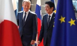EU - Nhật bắt tay, Mỹ thiệt thòi đứng ngoài