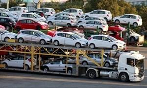 Tháng 7/2017 cả nước nhập khẩu 6,94 nghìn ô tô nguyên chiếc