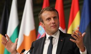 Tổng thống Pháp công bố tầm nhìn cho tương lai châu Âu