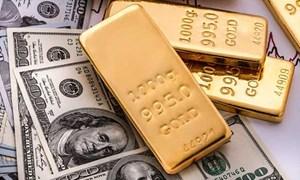 Giá vàng thế giới giảm xuống mức thấp nhất trong 3 tuần