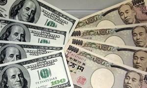 USD giảm so với yên Nhật khi quan ngại rủi ro quay lại