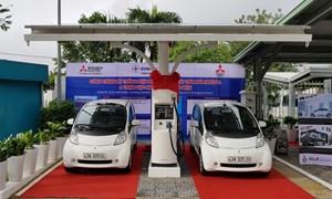 Đưa vào sử dụng trạm sạc điện nhanh đầu tiên tại Việt Nam