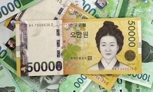 Đồng Won sẽ tiếp tục mạnh lên vào năm 2018