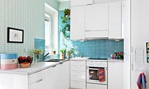 Cách bố trí hợp lý nhất với bếp nhỏ hẹp