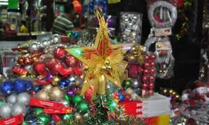Đồ trang trí Giáng sinh hàng nội bán chạy