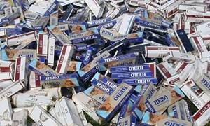Khó xử lý hình sự các vụ buôn bán, vận chuyển trái phép thuốc lá điếu nhập lậu