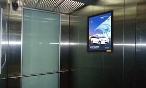 Quy định về kinh doanh dịch vụ quảng cáo trong thang máy nhà chung cư