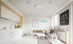 Độc đáo mẫu căn hộ dưới 50m2 cho gia đình nhỏ