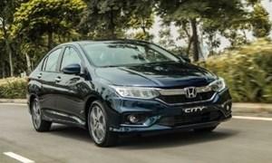 Honda City giảm giá đầu năm 2018