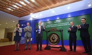 Quốc vụ khanh Bộ Ngoại giao Anh thăm và làm việc tại HNX