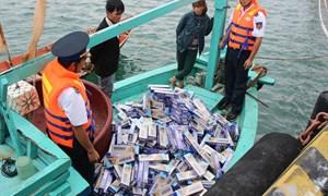 Hải quan và Cảnh sát biển phối hợp đấu tranh chống buôn lậu