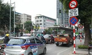 Tuyến phố nào của Hà Nội sẽ cấm xe Uber, Grab?