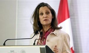Canada lên án kế hoạch đánh thuế thép và nhôm nhập khẩu của Mỹ
