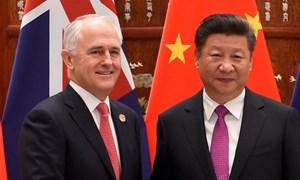 Gia tăng căng thẳng thương mại Australia - Trung Quốc