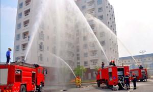 Nhiều yếu kém về phòng cháy chữa cháy tại chung cư ở Hà Nội