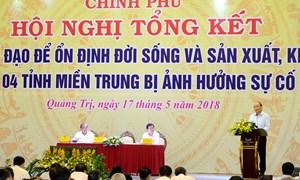 Sau 2 năm xảy ra sự cố môi trường biển: Đời sống nhân dân 4 tỉnh miền Trung đã ổn định