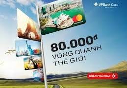 """VPbank thông báo kết quả quay số chương trình """"80 ngàn vòng quanh thế giới"""""""