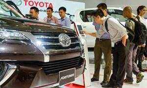 Thị trường ô tô Việt giảm liên tục nửa đầu 2018