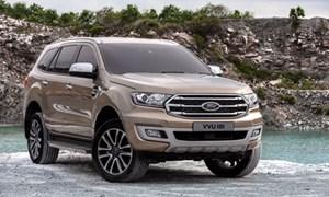 Ford Everest 2018 động cơ mới, giá từ 39.000 USD