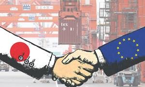 Nhật Bản ký hiệp định thương mại lịch sử với EU
