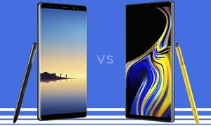 """Smartphone """"nghìn đô"""" Galaxy Note 9 đọ cấu hình iPhone X"""