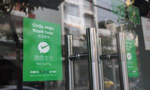 """Ngăn chặn khách Trung Quốc thanh toán """"chui"""""""