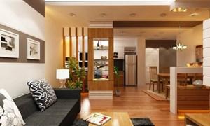 Cách thiết kế nội thất nhà liền kề