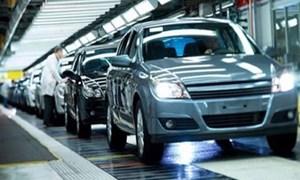 Tháng 8, Việt Nam chi trên 206 triệu USD cho nhập khẩu ô tô