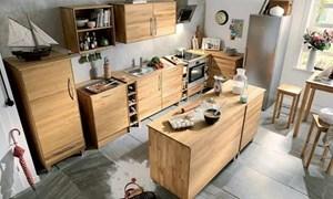 Những thiết kế nội thất nhà bếp với chất liệu gỗ tuyệt đẹp