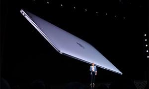 Apple ra MacBook Air mới có màn hình Retina, cảm biến vân tay