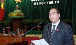 Chính phủ báo cáo việc thực hiện Nghị quyết về chất vấn và trả lời chất vấn