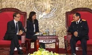Tăng cường quan hệ hợp tác hải quan giữa Việt Nam và Bỉ
