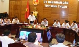 Bình Thuận: Họp ban chỉ đạo thu ngân sách 2 tháng cuối năm