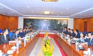 Tăng cường quan hệ hợp tác Việt - Lào