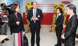 CEO bảo hiểm quốc tế, dồn dập công du Việt Nam