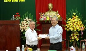 Thứ trưởng Phạm Sỹ Danh làm việc tại Bình Định, Phú Yên và Khánh Hòa
