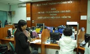 Cục Thuế Hà Nội thu ngân sách đạt 101,2% dự toán