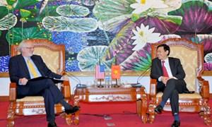 Bộ trưởng Vương Đình Huệ tiếp và làm việc với Đại sứ Hoa Kỳ tại Việt Nam